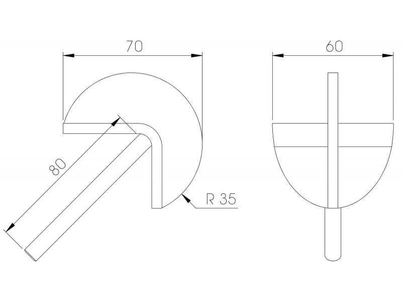 Anti-Slide Curve - Plan
