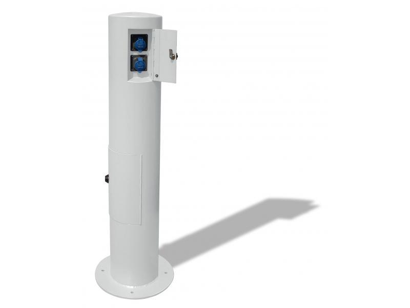 Borne Recharge Véhicule Electrique - RAL9010