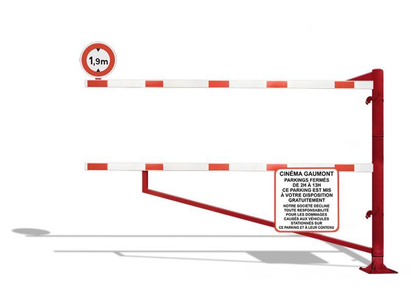 Gabarit De Passage Pivotant - Série GPBP - RAL3001