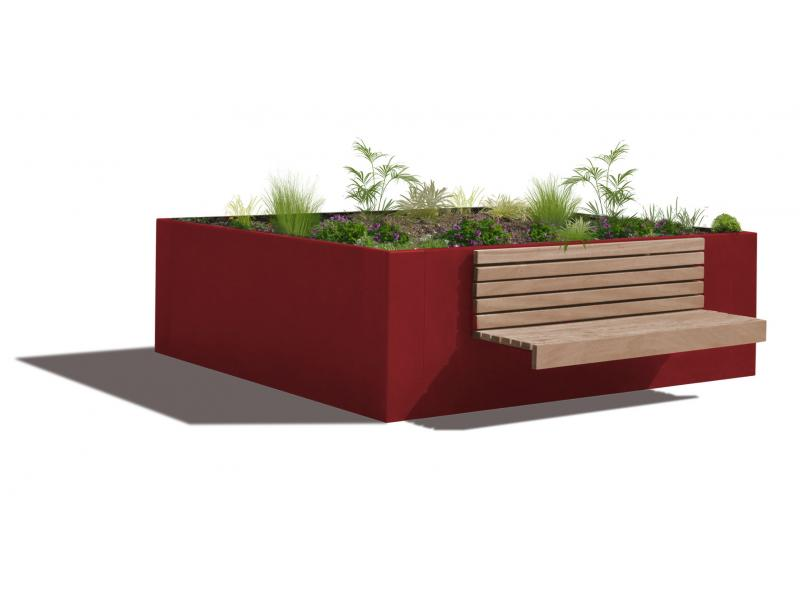 Jardinière Hanaba Plus - RAL3001