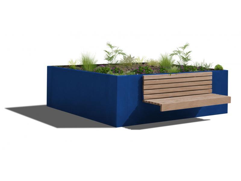 Jardinière Hanaba Plus - RAL5010