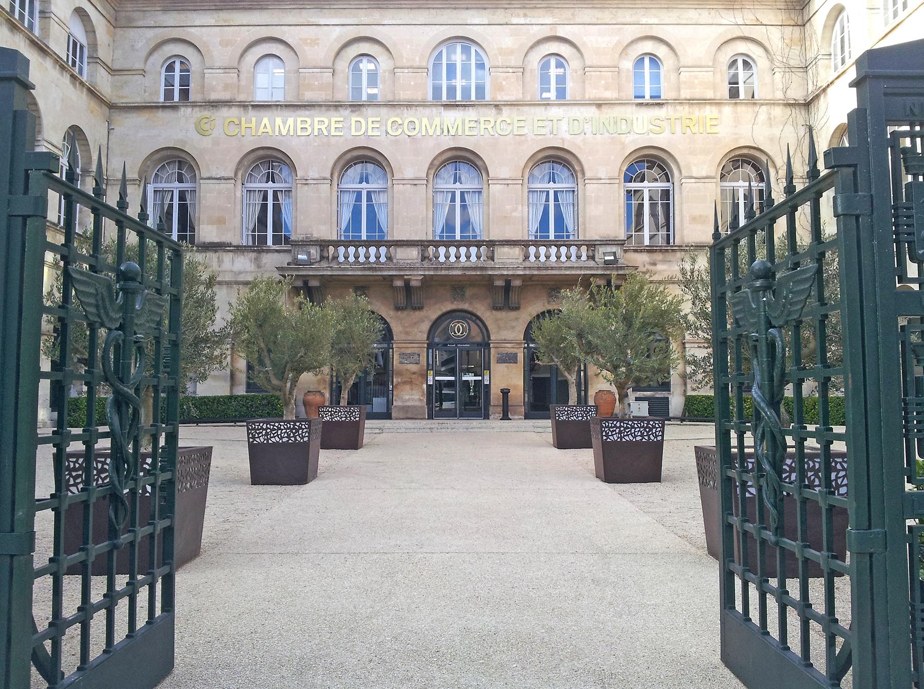 Chambre de commerce et d 39 industrie de n mes urban nt - Chambre de commerce salon de provence ...