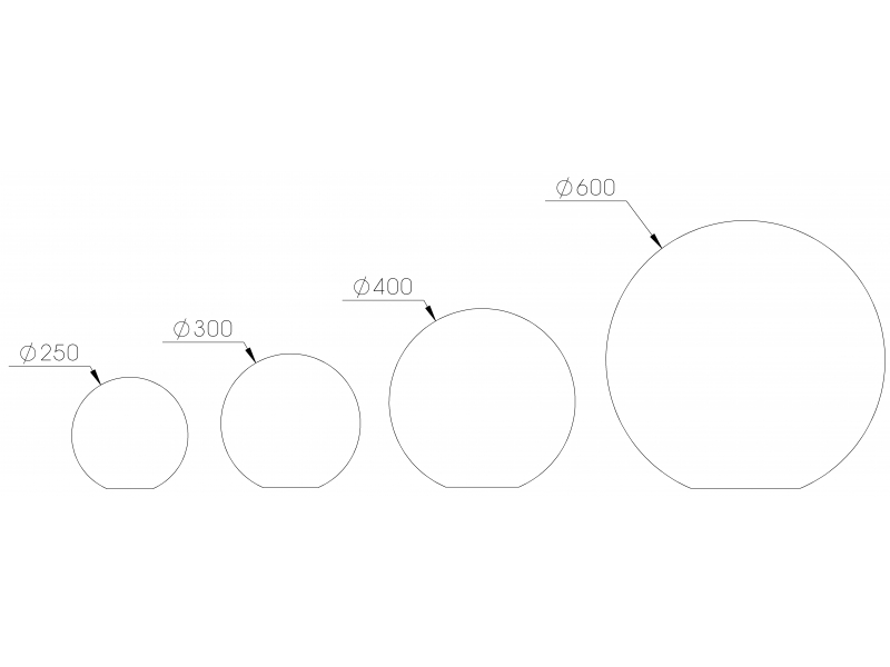 Sphère - Plan