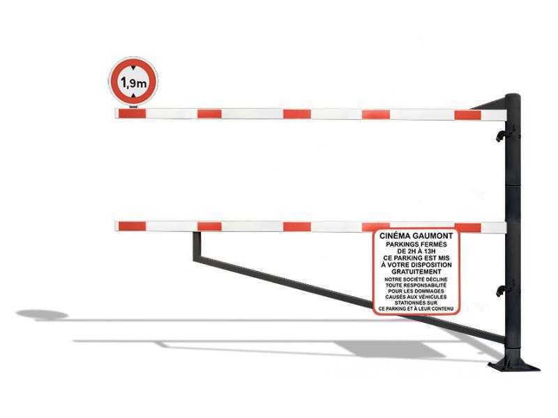 Gabarit De Passage Pivotant - Série GPBP - RAL9005