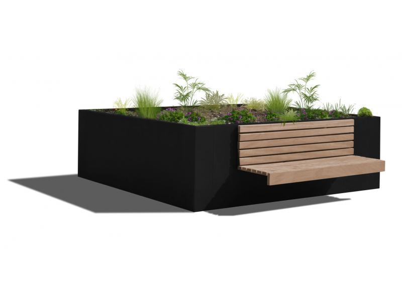 Jardinière Hanaba Plus - RAL9005