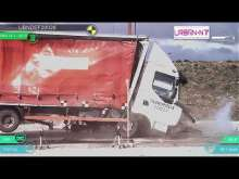 Borne anti-bélier ABSIMON K4 - Crash-test